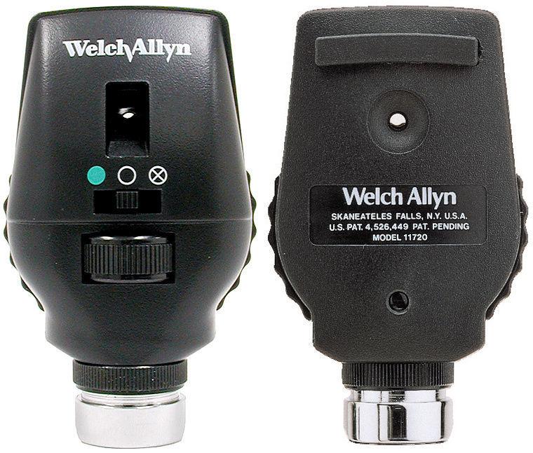Welch Allyn Cap Oftalmoscop Coaxial 3.5V