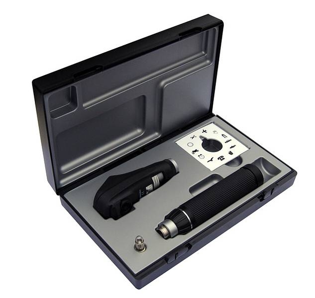 Riester ri-scope slit retinoscope set