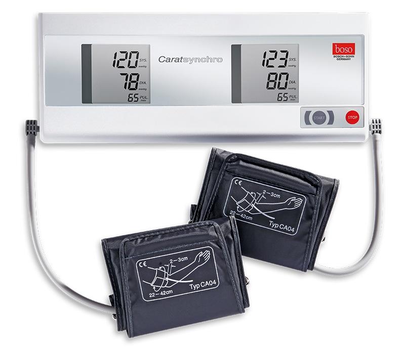 Tensiometru digital Boso Carat Synchro, 2  mansete