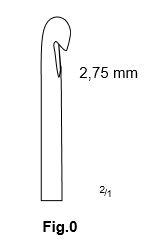 Carlig flebectomie Crochet Style, Fig.0