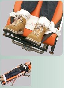 Sistem fixare picioare pe Brancarda / Targa cu Velcro - Segufix