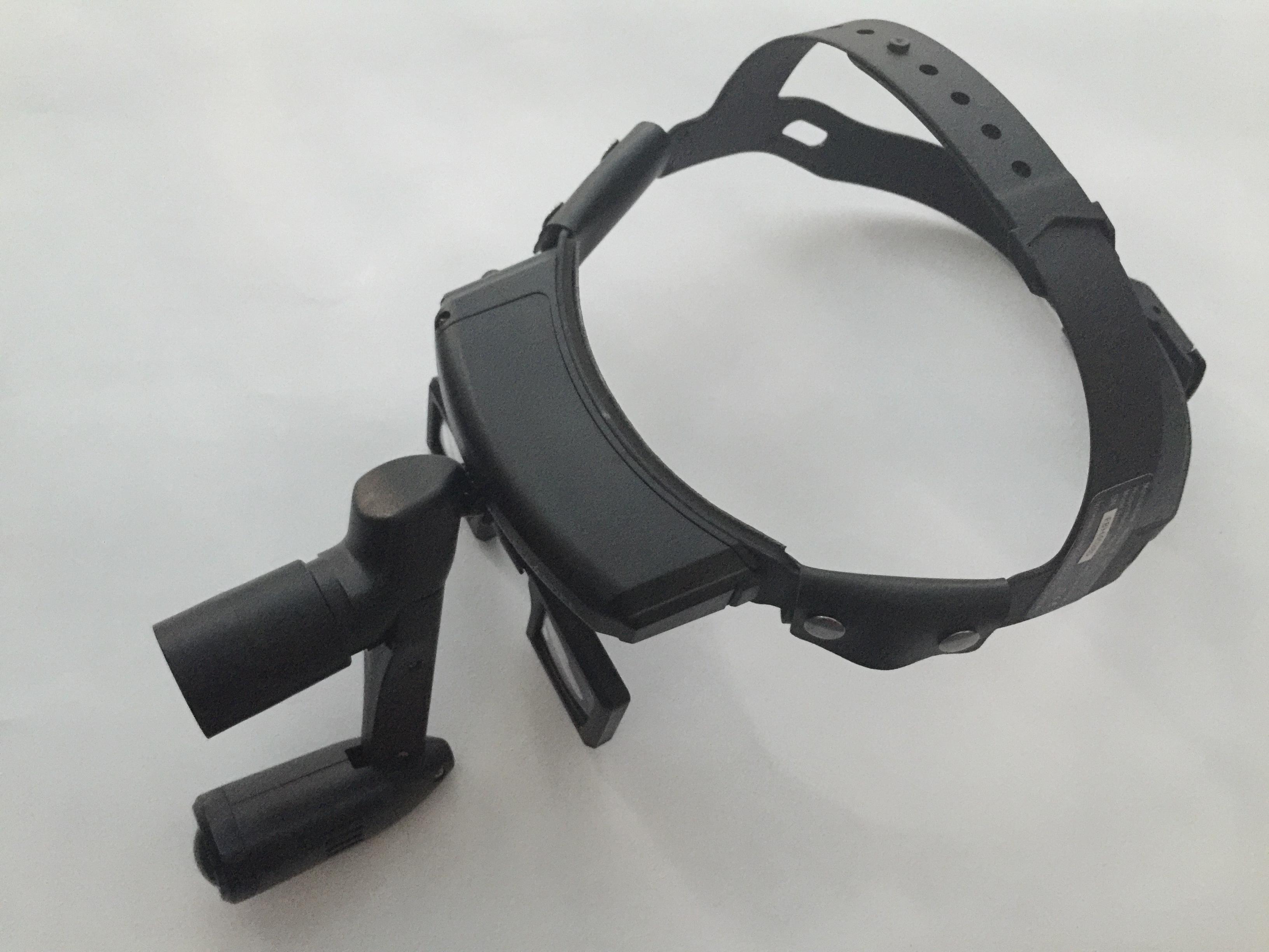 Lampa frontala LED BT-410AL, fascicul de lumina ajustabil, inclusiv lampa Astral si lupa tip ochelari