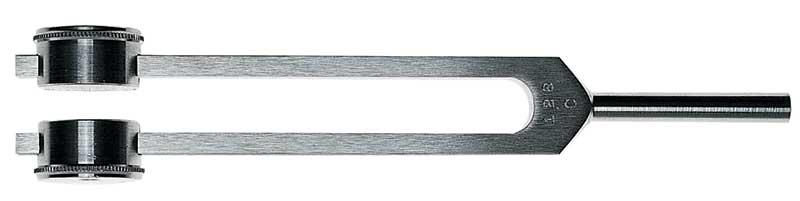 Riester Diapazon Aluminiu, cu atenuator c1 128 HZ
