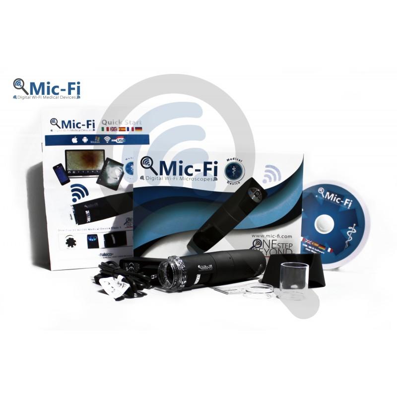 Dermatoscop digital wi-fi Mic-Fi FedMedMicFip