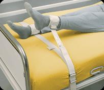SEGUFIX Sistem fixare picioare / membre inferioare la pat cu Velcro