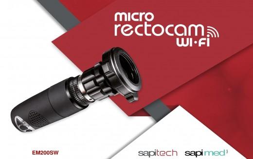 Micro Rectocam™ wi-fi – sistem de captare si stocare imagini pentru proctologie